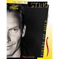 Hal Leonard - The Best of STING FIELDS OF GOLD