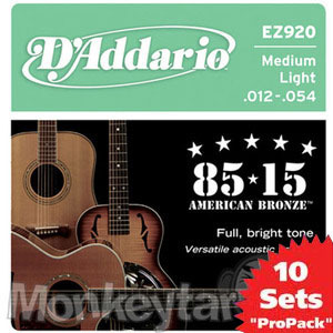 Daddario- Acoustic EZ920 (012-054) 10SET