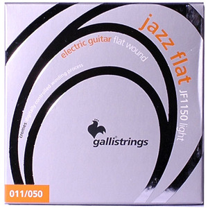 이테리 갈리 일렉기타 스트링 Galli String - Electric JAZZ FLAT Flatwound JF1150 , (011-050)