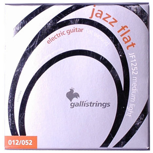 이테리 갈리 일렉기타 스트링 Galli String - Electric JAZZ FLAT Flatwound JF1252, (012-052)