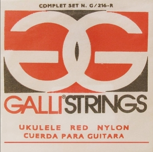 Galli String - G216-Red soprano